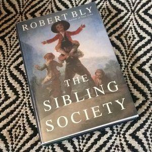 "SIGNED Robert Bly ""The Sibling Society"""
